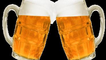 Propylene glycol alginate in beer
